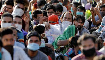الهند تسجل رقماً قياسياً بإصابات كورونا اليومية