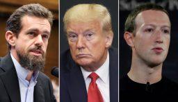 """""""فيسبوك"""" ينسحب من المعركة بين ترامب و""""تويتر"""""""