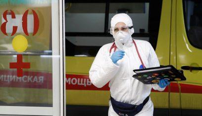 روسيا تسجيل 129 وفاة جديدة و5212 إصابة بكورونا