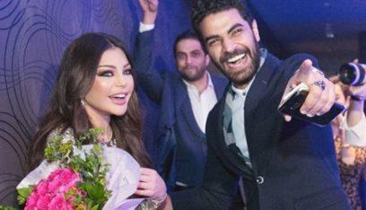 بالصورة: محمد وزيري يسعي لإثبات زواجه من هيفا وهبي قضائياً