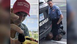 """بالفيديو: """"أعجز عن التنفس لا تقتلوني"""".. هكذا قتل شرطي """"أبيض"""" رجلاً """"أسود"""""""