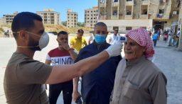 مفوضية اللاجئين السوريين أجرت 400 فحص PCR في مجمع الاوزاعي بالتعاون مع وزارة الصحة