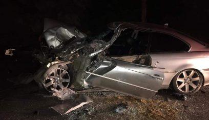 جريح بحادث سير على طريق كوسبا الكورة