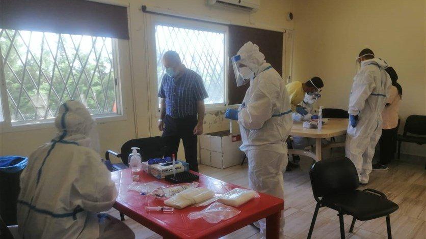 وزارة الصحة تطلق 150 فحص PCR في مجدل عنجر