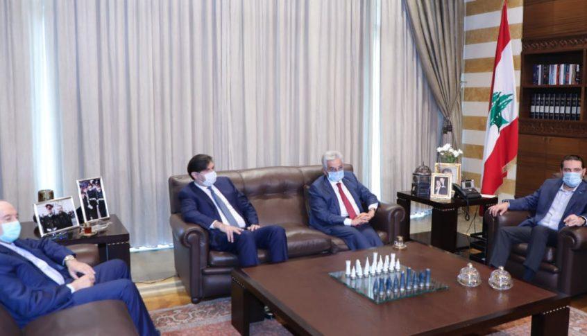 الحريري استقبل وفداً من جمعية المصارف ورئيس اتحاد العائلات البيروتية