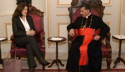 السفيرة الاميركية بعد لقاء الراعي: أطلعني صاحب الغبطة على معاناة الشعب اللبناني