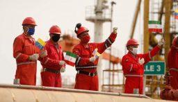 الوقود الإيراني يصل محطات فنزويلا والناقلة الخامسة تتجه للبحر الكاريبي