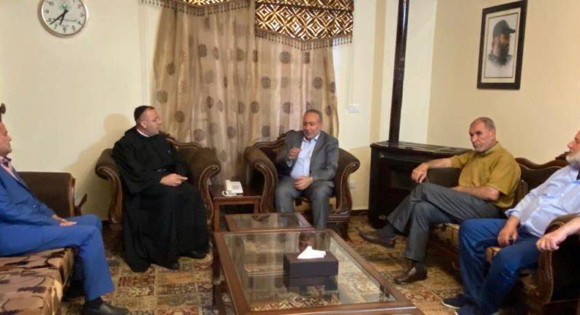 زيارة من الأب بو عبود الى قيادة حزب الله في البقاع