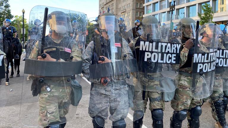 إصابة مؤكدة بكورونا في صفوف الحرس الوطني الأميركي في مينيسوتا