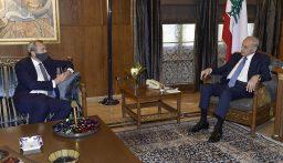 بري عرض الوضع المالي مع جمعية المصارف والتقى السفير البريطاني