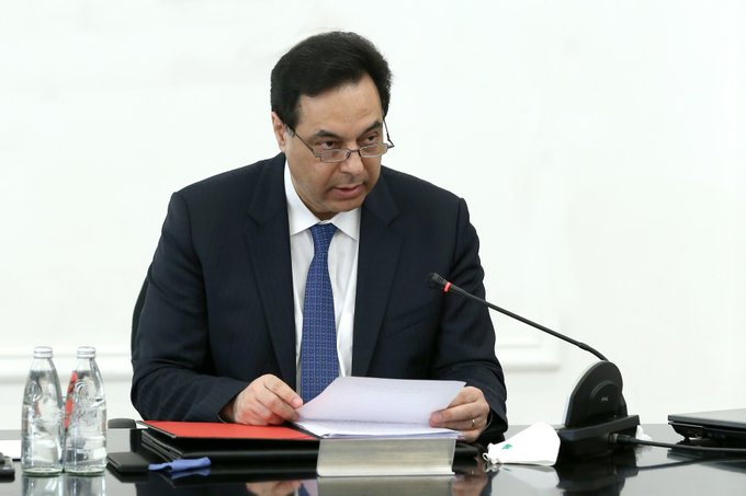 دياب: لبنان يتطلع إلى تأكيد التزام الأمم المتحدة ومجلس الأمن حفظ الاستقرار على حدود جنوب لبنان