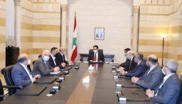 دياب عرض مع وفد من بلدية طرابلس لأوضاع المدينة والمطالب الإنمائية