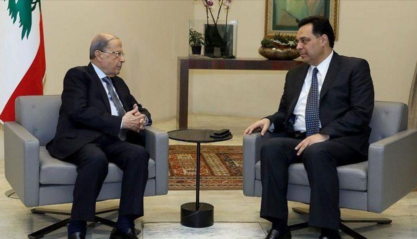 رئاسة الجمهورية: سيظل الرئيسان عون ودياب في تشاور لمعالجة مسألة استقالة حتي