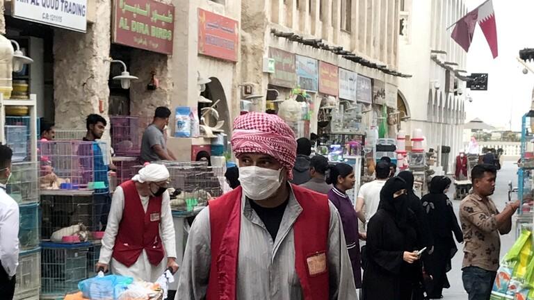 قطر: وفاتان و1901 إصابة جديدة بفيروس كورونا ليصبح إجمالي الوفيات 45 والإصابات 62160