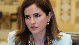 وزيرة الاعلام منال عبد الصمد تعلن استقالتها من الحكومة
