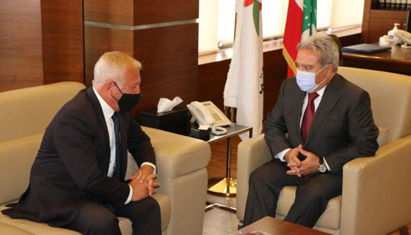 المشرفية عرض الأوضاع مع سفيري المكسيك وأرمينيا