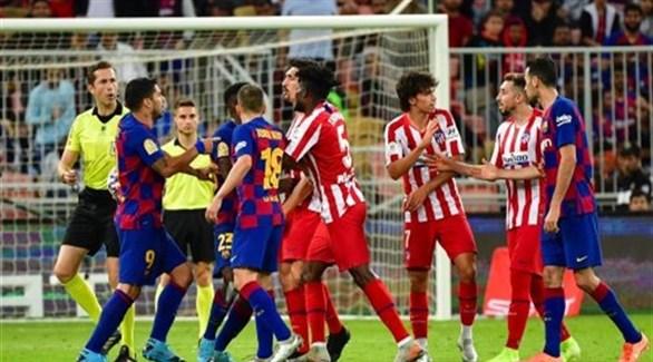 """الدوري الإسباني: قمة من العيار الثقيل بين برشلونة و""""الأتلتيكو مدريد"""""""