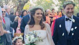 من حفل الزفاف.. اليكم الصور الاولى للنائب نديم الجميّل وعروسه ! (صور)
