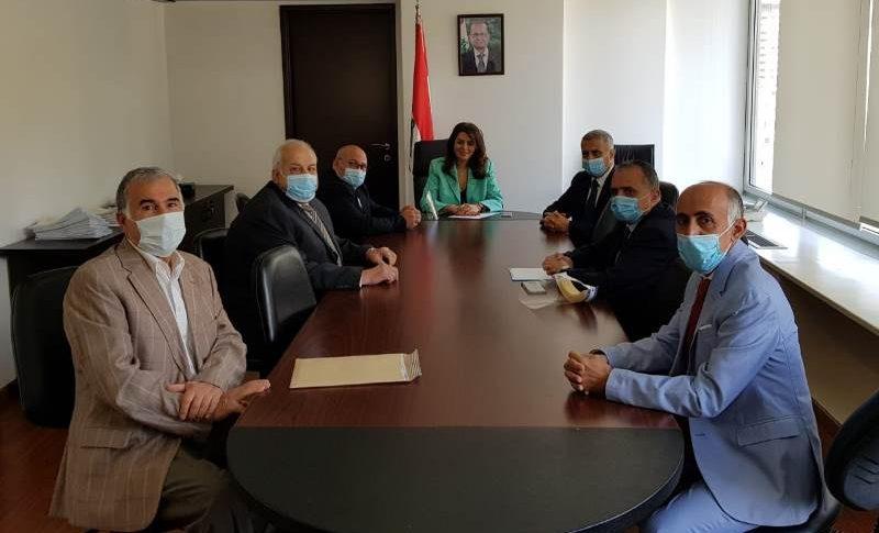 ادكار طرابلسي بعد زيارته شريم: آن الأوان لإعادة الأملاك المحتلة في المية ومية لأصحابها