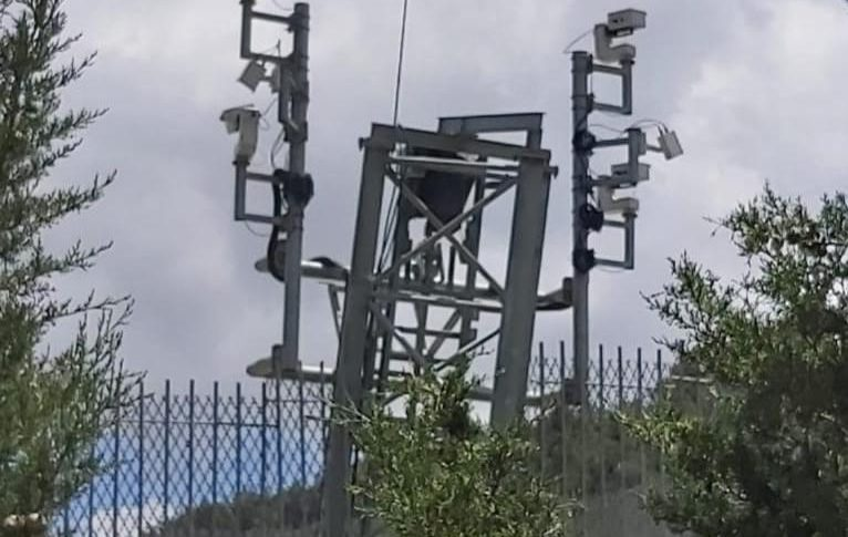 العدو أعاد تركيب 4 كاميرات على برج مواجه لمدخل عديسة