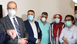 وزير الصحة تفقد برجا: ليس هناك كورونا سياسية