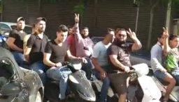 مسيرة دراجات وسيارات في شوارع طرابلس إحتجاجا على تردي الأوضاع الإقتصادية