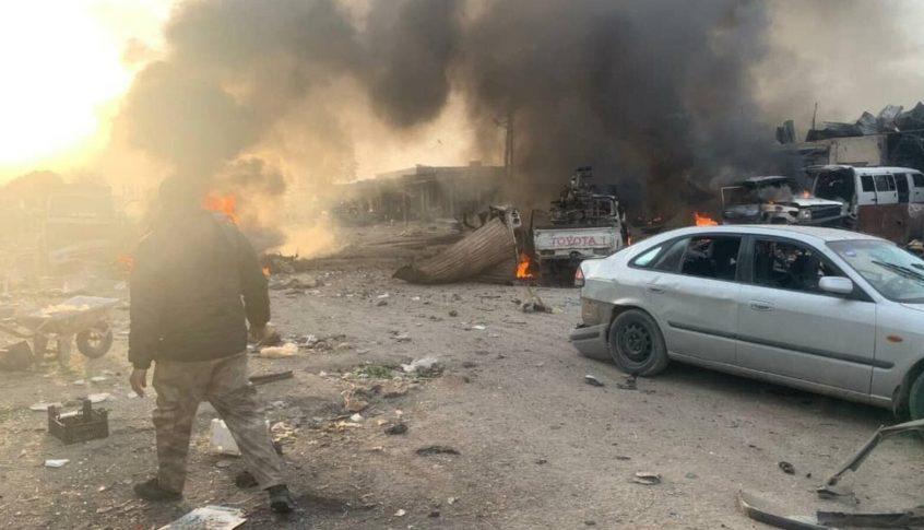 قتلى وجرحى بانفجار سيارة مفخخة في مدينة رأس العين السورية