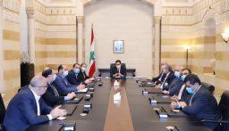 اللقاء التشاوري أكد لدياب دعم الحكومة والوقوف إلى جانب رئيسها