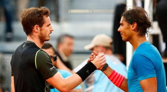 نادال وموراي ينتقدان جدول استئناف منافسات التنس
