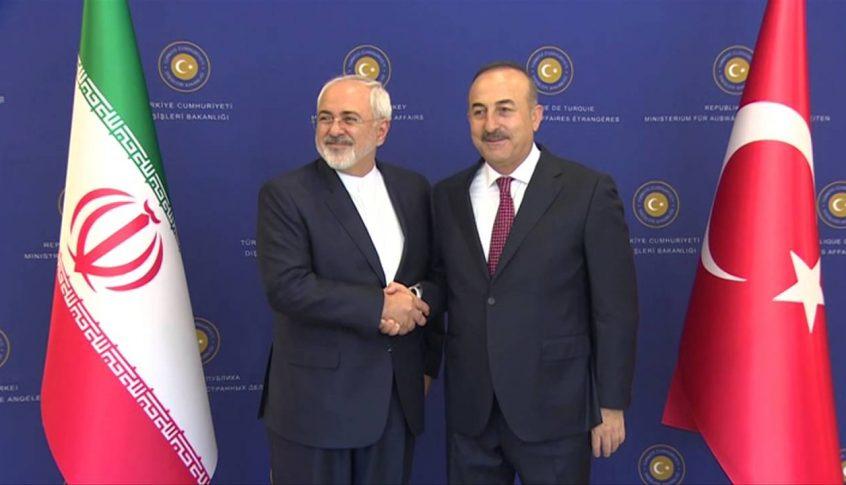 """""""قانون قيصر"""" في محادثات الأتراك والإيرانيين"""