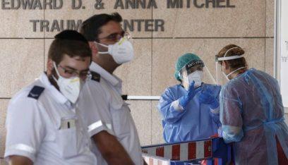 ارتفاع في عدد حالات الاصابة والوفاة بكورونا في اسرائيل