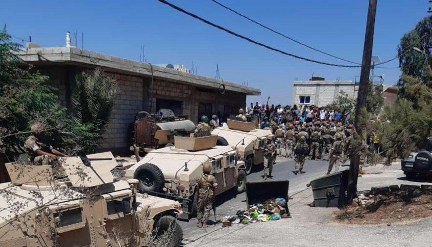 قتيل وجرحى في توتر بين الجيش ومحتجين في منطقة وادي خالد