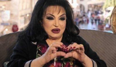 بالصور: سميرة توفيق تجري عملية قسطرة في القلب