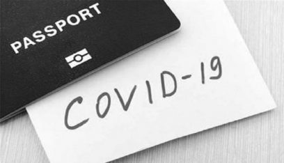 أول جواز سفر خاص بفيروس كورونا في هذه الدولة