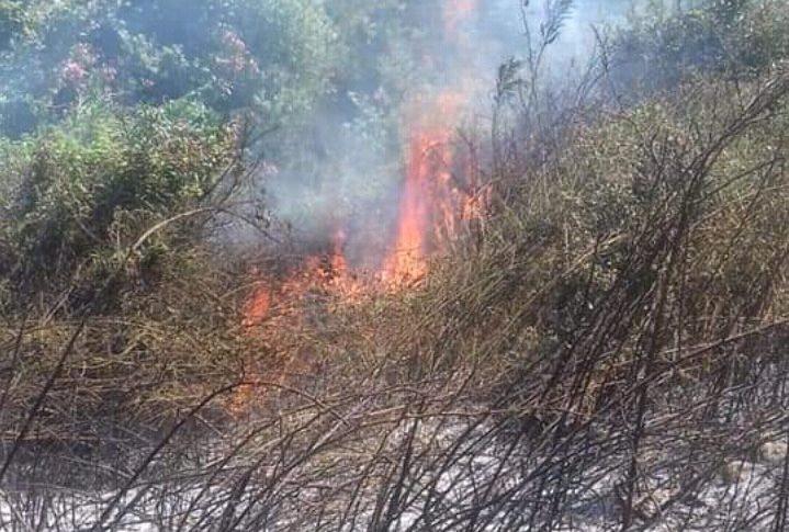 حريق في وادي خالد