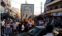 مسيرة لحراك النبطية احتجاجاً على تردي الاوضاع المعيشية