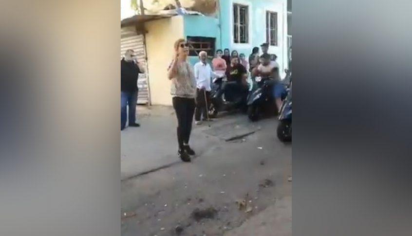 """بولا يعقوبيان تعطي توجيهاتها لقطع الطريق على المصابين بكورونا.. """"سوريين""""! (فيديو)"""