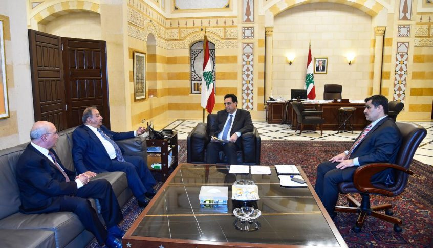 دياب استقبل الكعكي: نؤكد الوقوف إلى جانب الصحافة اللبنانية