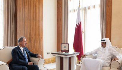 بعد زيارة أردوغان.. أمير قطر يستقبل وزير الدفاع التركي