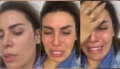بالفيديو: أماني السويسي تتعرّض للضرب من قبل متعهّد حفلات!