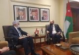 حتي التقى نظيره الأردني وبحث معه الأمور المشتركة بين البلدين