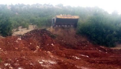 الجيش يقفل معابر تُستخدم للتهريب في منطقة الهرمل