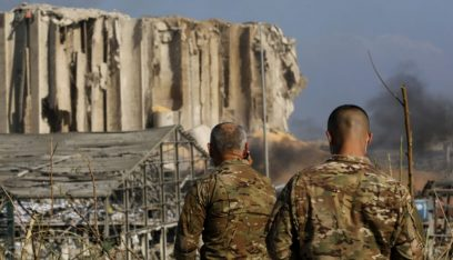 """الجيش ينشئ """"Call center"""" لإدارة تبعات الانفجار في مرفأ بيروت"""
