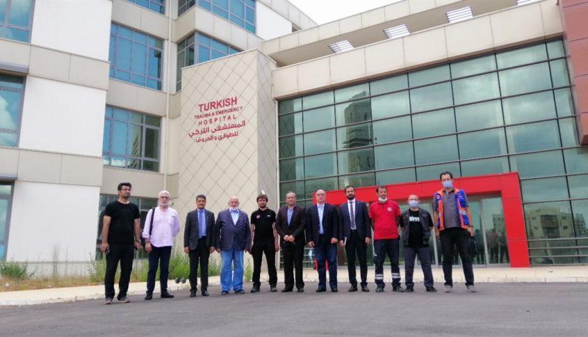 زيارة تفقدية للمستشفى التركي في صيدا وبحث خطة عمل لتسريع افتتاحه