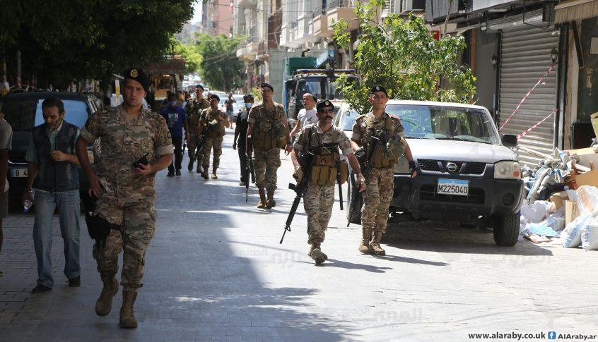 الجيش أعاد فتح الطريق عند تقاطع إيليا في صيدا