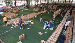 """صيدا تستعد لإطلاق قافلة """"كرمال بيروت"""" الأولى محملة بمساعدات غذائية وعينية"""
