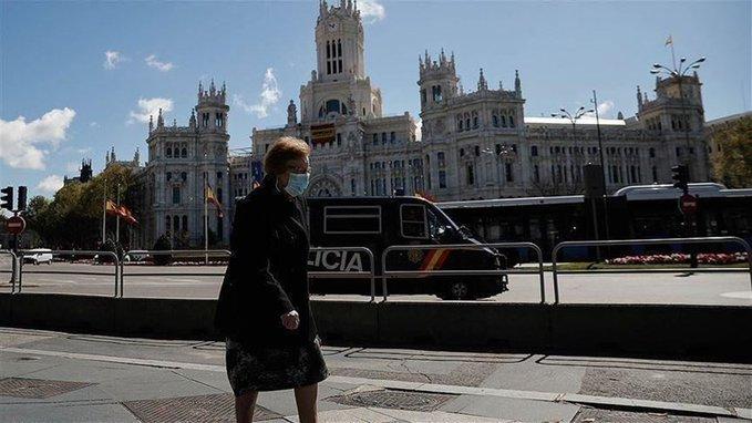 إسبانيا تسجل 968 إصابة جديدة بفيروس كورونا