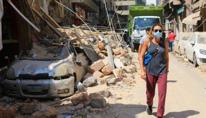 بعد ساعات من الانفجار.. طفلة فلسطينية تحمل اسم بيروت (صورة)