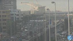 بالصور: حركة المرور كثيفة من المدينة الرياضية والكولا  باتجاه مار الياس