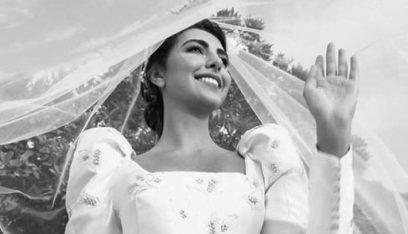 بالصور والفيديو: فاليري ابو شقرا تدخل القفص الذهبي.. فستانها يُذكّر بفساتين الأميرات